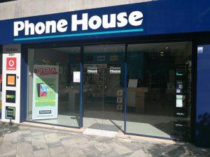Phone House, tienda phone house, establecimiento phone house, phone house murcia, murcia capital, tienda de telefonía, comprar smartphone