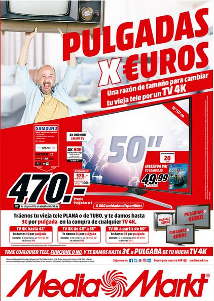 Sonitrón Mediamarkt Pone En Marcha Su Campaña Kilos Y Pulgadas Por Euros