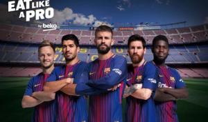 #EatLikeAPro Barça UNICEF obesidad infantil Beko FC Barcelona