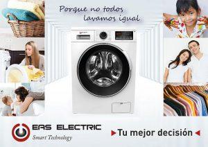 función Programa Favorito función Aclarado Extra función Paro más Carga tecnología Easy Jet Eas Electric lavadoras