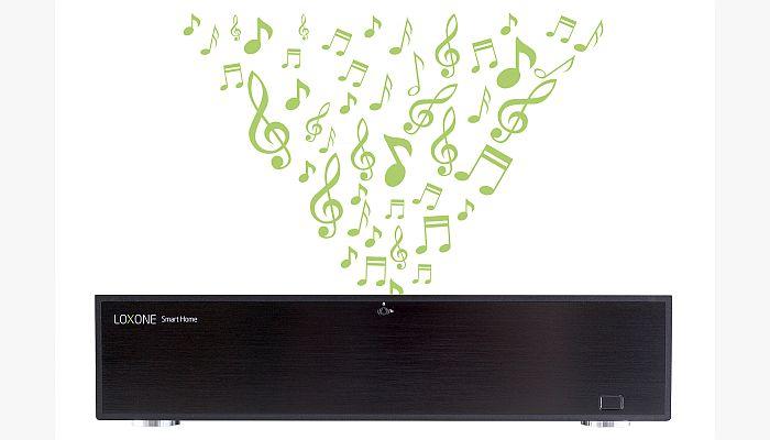 AirPlay Spotify Google Play Music Smart Home Loxone Music Server Multiroom Audio Loxone TuneIn Apple
