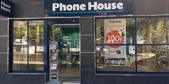 cadena comprar smartphone Phone House punto de venta telefonía móvil teléfono móvil tienda de telefonía reparación smartphone