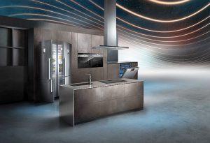 Black Inox cocina conectada Home Connect iQ700 lavadora y secadora Avantgarde servicio Integral Siemens Siemens