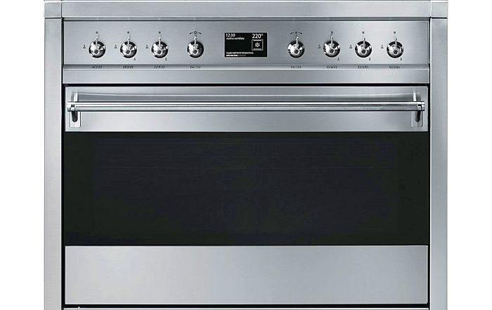 cocina autónoma A1-9 enfriador rápido SAB4604N Gama Dolce Stil Novo horno Línea SFP6102TVS Red Dot Design Awards Smeg