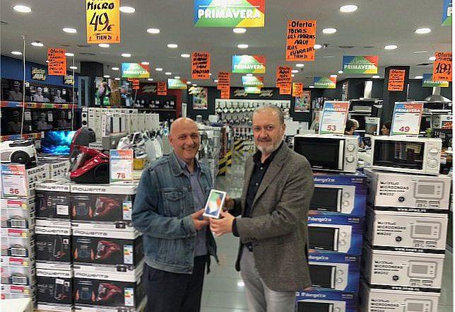 Tien 21 Centro Comercial Parque Oeste de Alcorcón Sinersis promoción iPhone X Samsung Galaxy S8