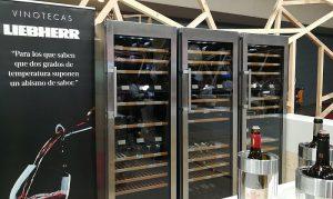 Alimentaria, cocinas premium, cuidado de la temperatura del vino, Frigicoll, Liebherr, Vinorum Think, vinotecas