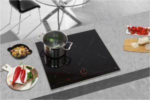 teka, placa de inducción, placa iKnob, iKnob, precisión, encimera de cocina, cocinado, cocina, electrodoméstico