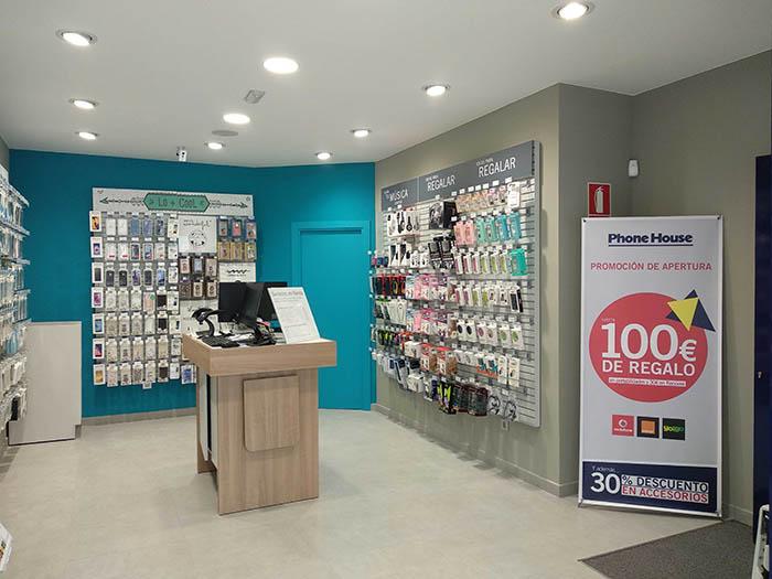 Phone House, tienda de telefonía, telefonía móvil, comprar smartphone, punto de venta, cadena, Arteixo, teléfono móvil