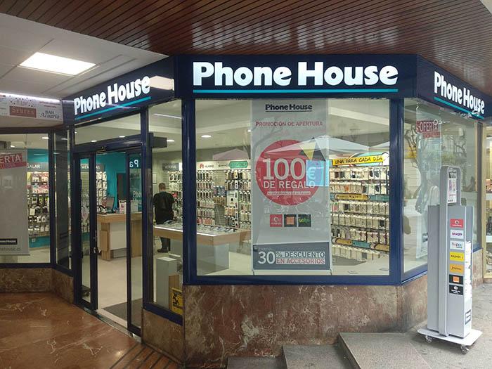 Phone House, tienda de telefonía, comprar teléfono móvil, smartphone, teléfono, Galicia, punto de venta, tienda, establecimiento, Ourense