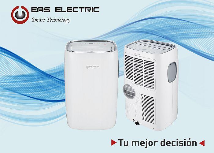 aire acondicionado portátil Calefacción Deshumidificación Eas Electric ETP-12 modo Sleep modo Timer refrigeración tecnología de bomba de calor