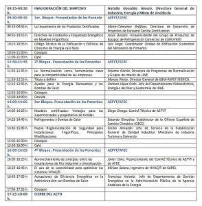 AEFYT, AEFYT (Asociación de Empresas de Frío y sus Tecnologías), AFEC, AFEC (Asociación de Fabricantes de Equipos de Climatización), Carel, climatización, EBM-PAPST, EUROVENT (Asociación Europea para la Climatización de Interiores, EUROVENTSUMMIT, refrigeración, Refrigeración de Procesos y las Tecnologías del Frío Alimentario), Simposio de la Industria Española de la Climatización y de la Refrigeración