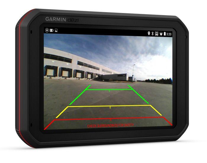 Garmin dēzl 780 Garmin dēzl 785 Dash Cam cámara de seguridad trasera BC 35 Garmin Express base de datos de radares gratuitos solución de tráfico digital gratuita tecnología Bluetooth conectividad WiFi Tripadvisor Foursquare POIs dispositivos GPS Smartphone Link