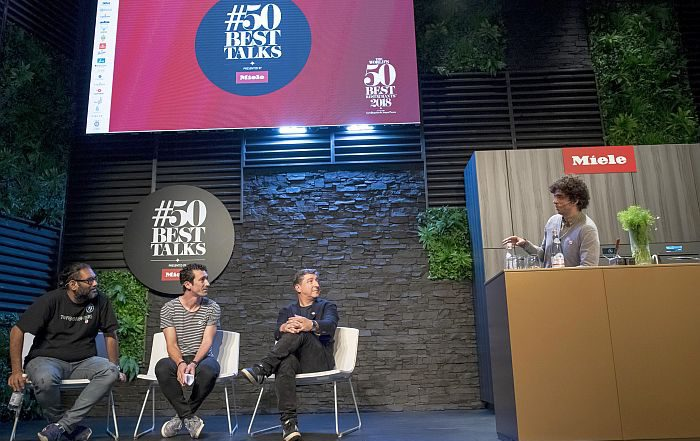 #50BestTalks, Basque Culinary Center, chefs, Chefs for Change, cocineros, hornos combinados ArtLine, Miele One To Watch, Palacio Euskalduna de Bilbao, responsabilidad social, sostenibilidad, The Worlds 50 Best Restaurants
