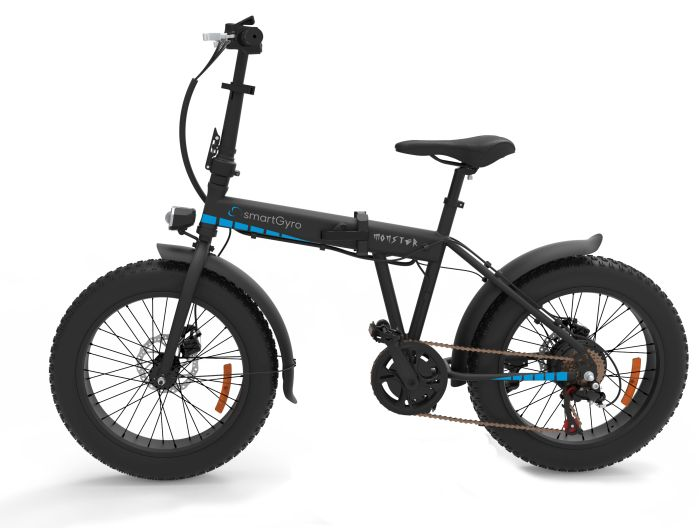 eBike, Monster, City, Milos, smartGyro,motor Brushless, bicicletas eléctricas