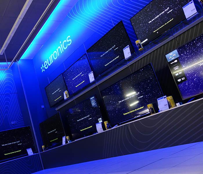 Euronics igualada, nueva tienda euronics, tienda de electrodomésticos, nueva imagen, tienda moderna, Candelsa