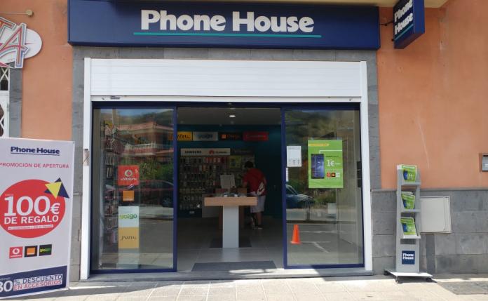 tienda phone house, icod de los vinos, tenerife, tienda de telefonía, smartphone, teléfono móvil, comprar