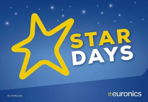 Antena 3, Cuatro, Euronics, Santander Consumer, Star Days, Tele5