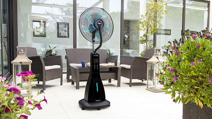 aire acondicionado portátil, Cecotec, Forcesilence, gama de ventilación, modo calefacción, nebulizadores