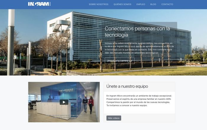 Employer branding, Ingram Micro Iberia