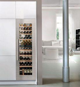 De Dietrich, Falmec, Frigicoll, frigorífico combi CBN 6256, Liebherr, NoFrost, Red Dot Museum de Essen, tecnología BioFresh, vinoteca Vinidor