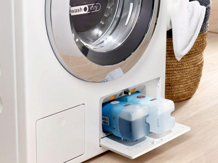 detergente UltraPhase, electrodomésticos sostenibles, estructura de panal de abeja del tambor, Miele WCE660, Miele WCG120 XL, Miele WCI320 PWASH 2.0 XL, Miele WKF301, programas de lavado ECO, sistema de dosificación de detergente TwinDos, sistema de lavado CapDosing