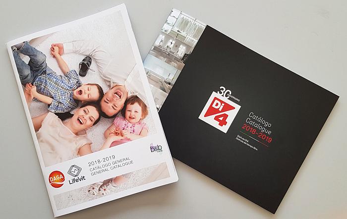 catálogo Di4, catálogo daga, calor textil, planchas, centros de planchado, aspirador, b&b trends, pequeño electrodoméstico, catálogos 2018-2019, almohadilla eléctrica