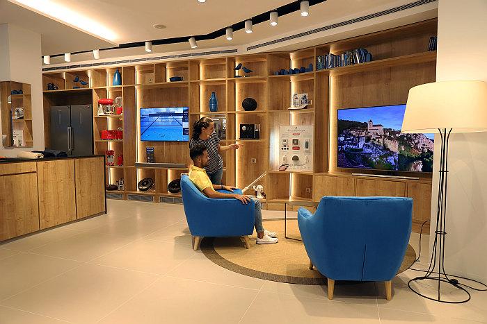 Family Store, tienda de electrodomésticos, Caixabank, bankcaixa, málaga, calle larios, comprar electrodomésticos, banco