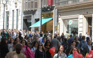 comerciantes, centro de las capitales, tiendas del centro, puntos de venta, huelga de taxistas, taxis, bloqueo, afectación económica