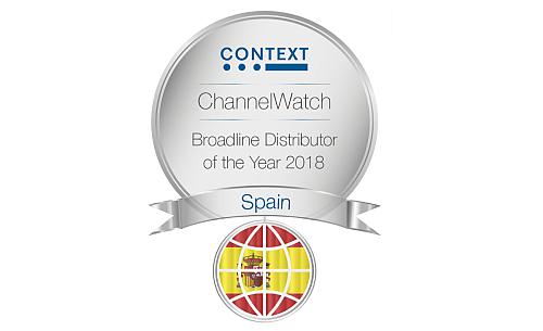 context, premio, encuesta, mayorista del año, 2018, mayorista generalista, Tech Data