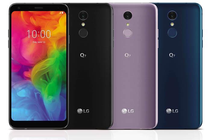 Lg Q7, smartphone, gama media, teléfono lg, cámara, sumergible, 349 euros