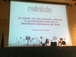 reinicia, scrap, raee, gestión de raees, reciclado, recogida de electrodomésticos, responsabilidad del productor, residuos, región de murcia, tiendas de electrodomésticos, Murcia