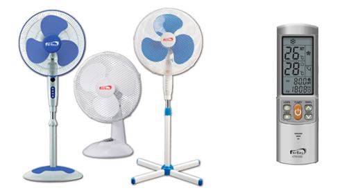 fersay, ventiladores, mando universal aire acondicionado