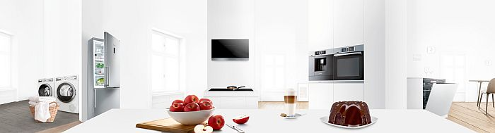 Alexa, asistentes virtuales, Bosch, cafetera, campana extractora, cocina conectada, cocina saludable, frigorífico, Home Connect, IFA, lavadora, lavavajillas, placas de inducción