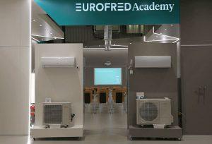 aire acondicionado doméstico comercial e industrial, climatización, Eurofred Academy, Horeca