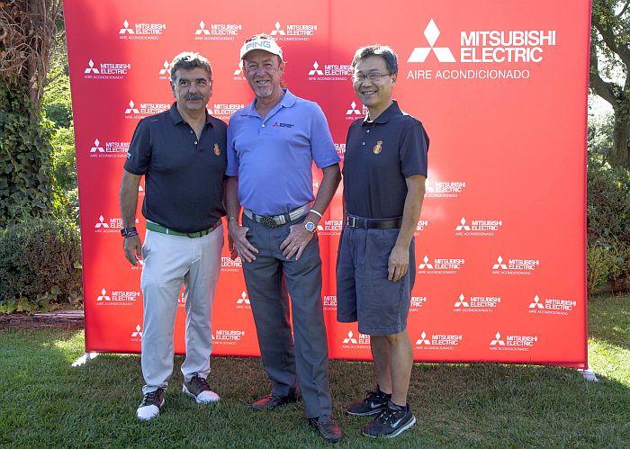 clinic, Club de Golf RACE, Golf Day, Miguel Ángel Jiménez, Mitsubishi Electric, Open Británico Sénior