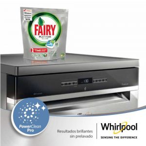 Fairy, Función PowerDry, PowerClean, Whirlpool