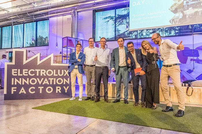 Electrolux Innovation Factory, inauguración, pordenone, startup, innovación, colaboración, electrodomésticos, grupo electrolux, electrolux
