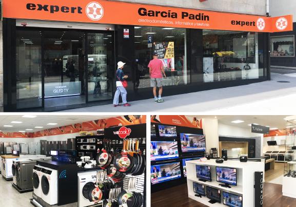 tienda expert, tienda de electrodoméstico, galicia, ogrove, garcía padín, electrodomésticos, tienda, electro, distribución, o Grove, Expert, Fadesa-Expert, expert garcía padín