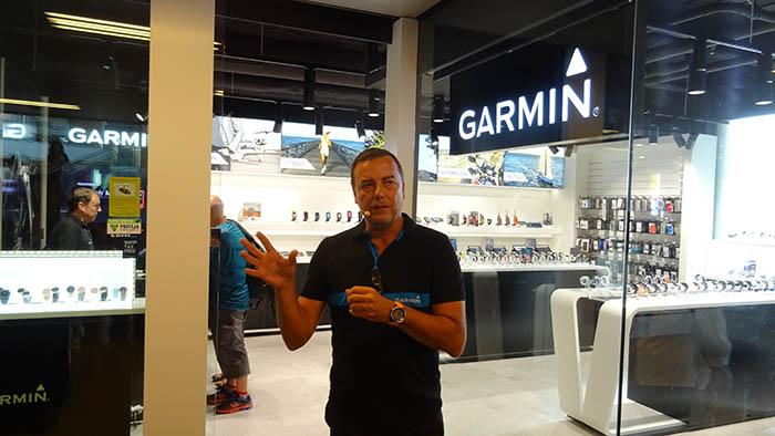 Garmin Store Barcelona, tienda garmin, productos garmin, illa diagonal, salvador alcover, reloj, fitness, navegador, náutica automoción