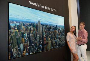 LG oled 8k, televisor, OLED TV, tecnología, IFA 2018, TV, televisor, calidad de imagen 88 pulgadas