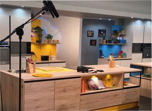 cocinas, Con dos fogones, Eggo, electrodomésticos de cocina, hornos de vapor CombiSteam con pantalla táctil LED, MasterChef, muebles de cocina