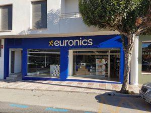 DIVELSA, euronics, tienda de electrodomésticos, Euronics Teulada, Grupo Redes Digitales Satelvisión, comprar electrodomésticos en teulada, marca Euronics