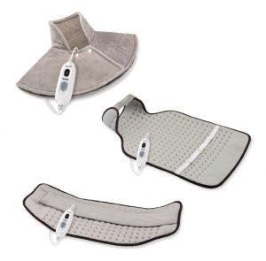 flexy-heat, almohadilla calefactable, calor terapéutico, cervical dorsal, lumbar, espalada, calor, daga, almohadilla eléctricaa