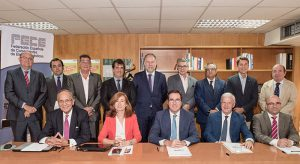 Antonio Garamendi, Cepyme, CEOE, FECE, comerciantes de electrodomésticos