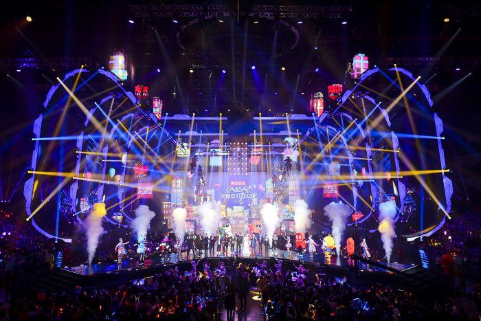 11.11 Global Shopping Festival 2018, Alibaba., Alipay, Cirque du Soleil., compras online, ecommerce, Mariah Carey, Miranda Kerr, Youku