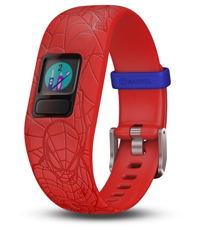 app Spider-Verso, Disney, Garmin vívofit jr. 2 Spiderman, Marvel Avengers, monitores de actividad, pulseras de actividad, Star Wars, Toe-to-Toe Connect IQ