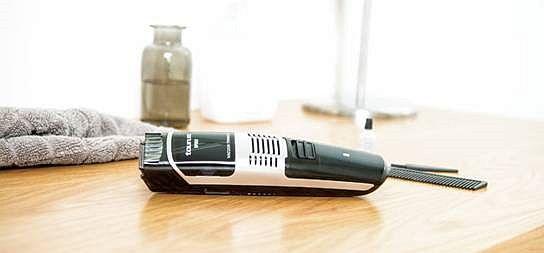 11 alturas de corte, aceite lubricante, barbero, cabezal extraíble, cargador, cepillo de limpieza, cuchillas de acero inoxidable, peine, Spiro, Taurus