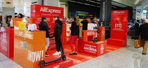 día del soltero, aliexpress, tienda online, el corte ingles, tienda temporal, sanchinarro, pop up, aliexpresspopup
