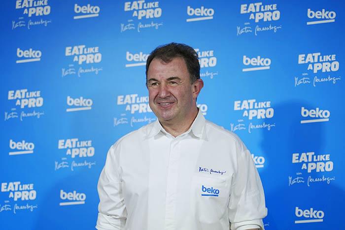 beko, cocina sana, cocina saludable, eat like a pro, martin berasategui, chef, cocinero, electrodomésticos