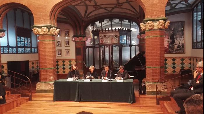 El Primer Palau, jóvenes talentos, ganadores, premios 2018, palau de la musica, barcelona, mitsubishi electric, aire acondicionado, patrocinio, organista Joan seguí